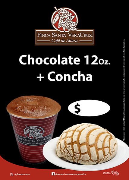 Chocolate + Concha